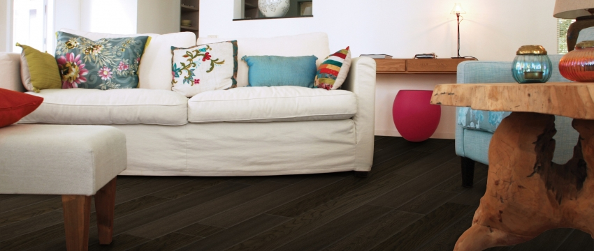 How to Decorate With & Care For Dark Flooring in your Home Decor
