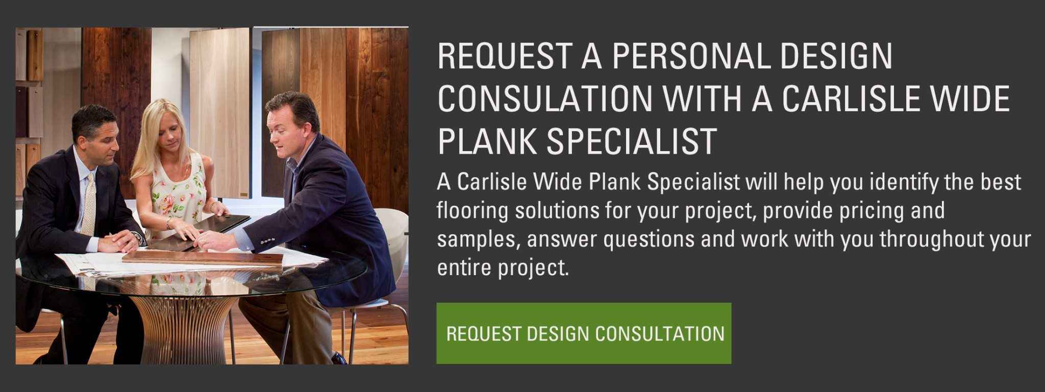 Wood Flooring Design Consultation from Carlisle Wide Plank Floors