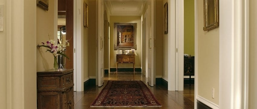 In Pine or Hardwood Floors, Wide Planks Are Perfect For Hallways