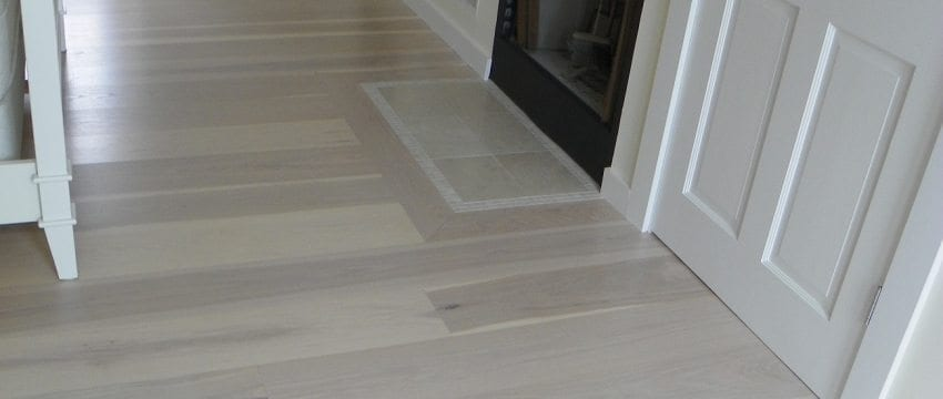 Seaside Home Get a Custom Hickory Floor Fit for the Beach