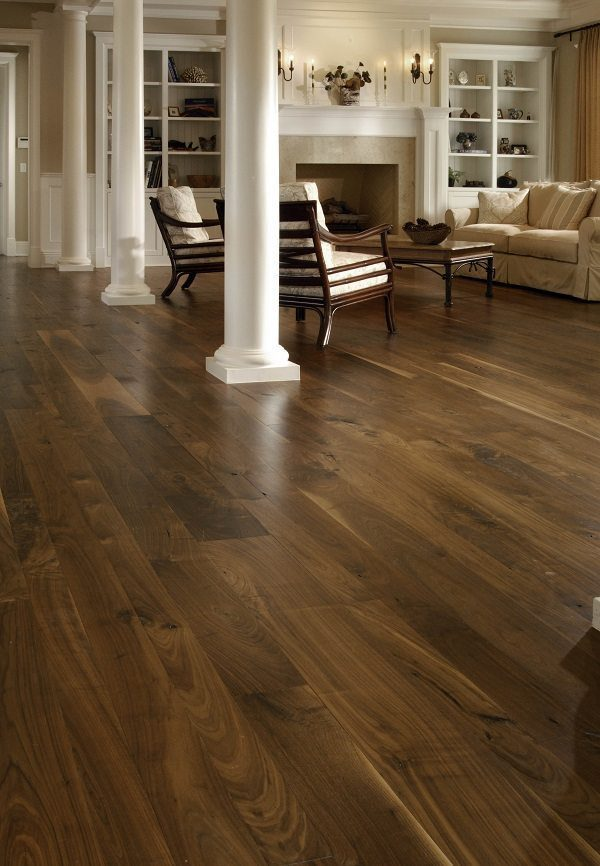 Discover The Rich Dynamic Beauty Of Walnut Flooring