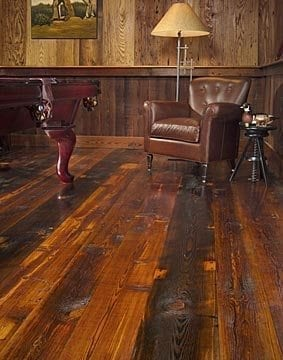 Rustic Eco Friendly Reclaimed Grandpa's Wood Flooring