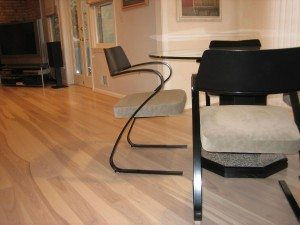 Ash Floor In Living Room and chair