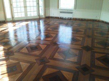 Artek Hardwoods Creates Custom Pattern for Customer