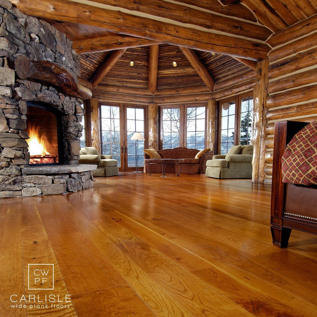 Cherry Wood Floors & Engineered Hardwood Flooring from Carlisle Wide Plank Floors