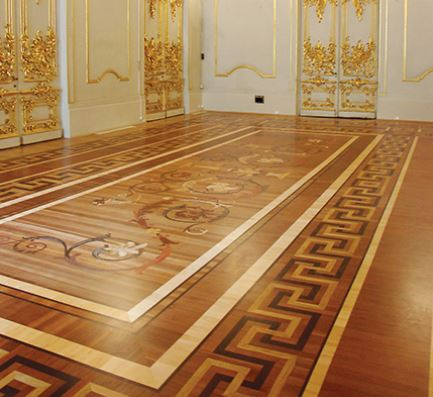 The Floor Has 11 Different Species Of Hardwood Flooring Like Maple Wood  Flooring, Oak Wood Flooring, And Exotic Species Like Wenge, Sapele, Pear,  Jatoba, ...