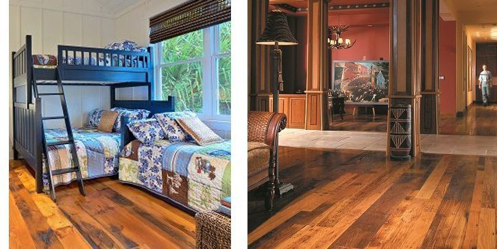 Reclaimed flooring from Carlisle Wide Plank Floors