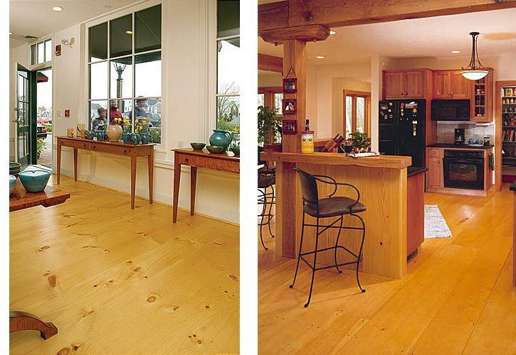 Flooring 101 Pine Hardwood Or Reclaimed