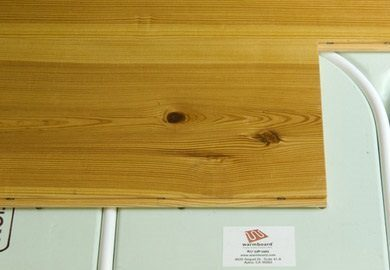 Carlisle Wide Plank Floors for installing on radiant heat.