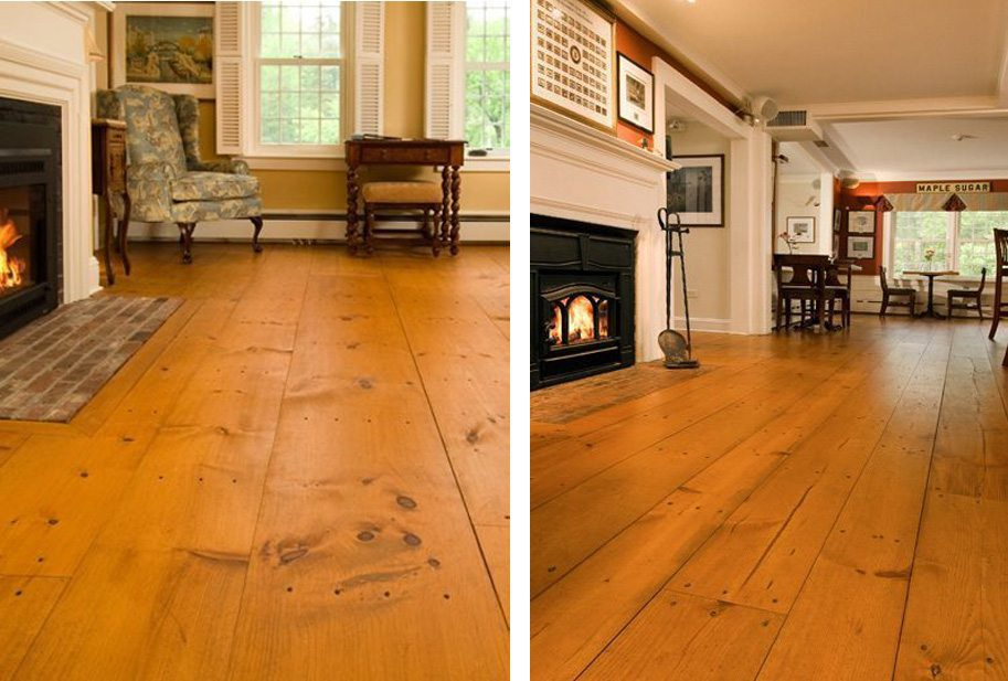 Heart Pine Flooring and Solid Wood floors from Carlisle Wide Plank Floors