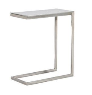 AllModern Furniture end table on Carlisle Wide Plank Floors