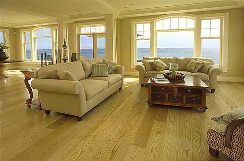 Ash Hardwood Flooring from Carlisle Wide Plank Floors
