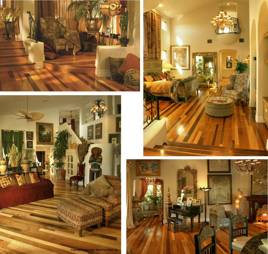 Cherry Wood floor and MAple Hardwood Flooring from Carlisle Wide Plank Floors