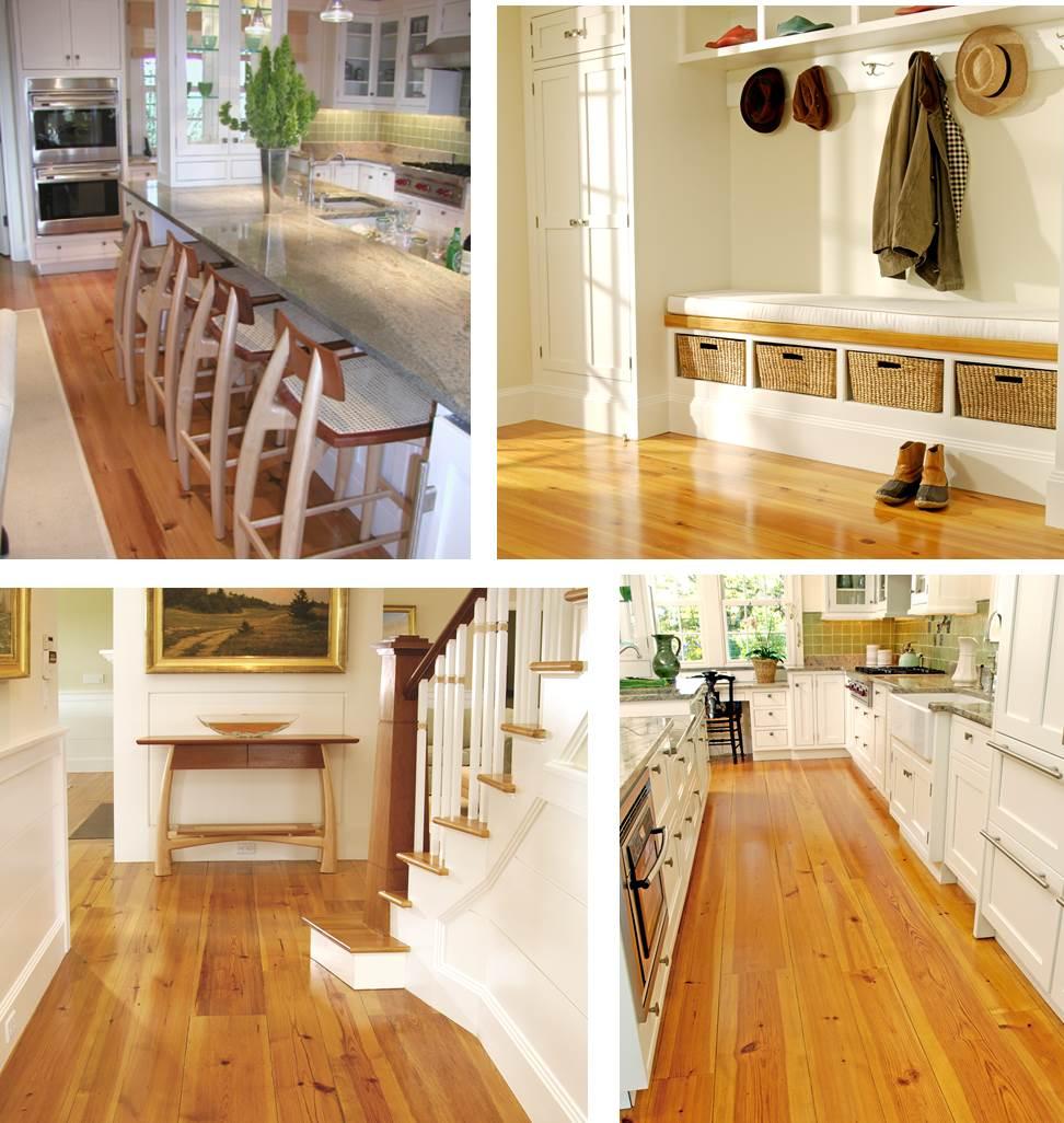 Heart Pine Flooring from Carlisle Wide plank Floors
