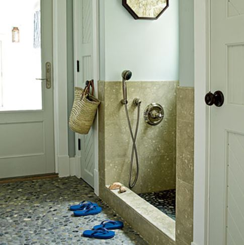 Mudroom Shower for Kids and Dogs on Carlisle Wide Plank Floors Blog