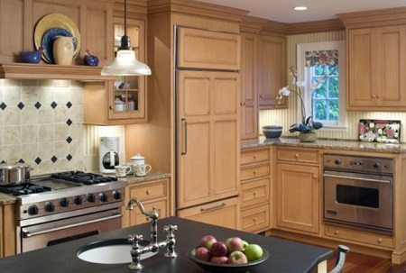 Superior Woodcraft kitchens with recessed lighting on Carlisle Wide Plank Floors Blog