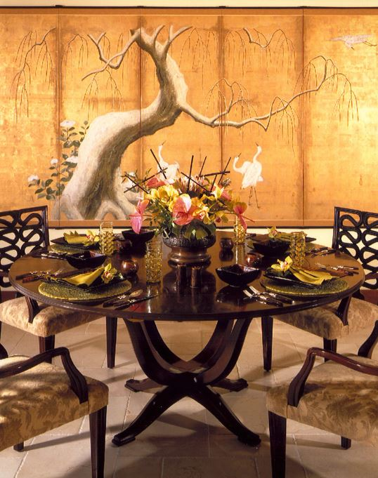Oriental Interior Design Ideas from Carlisle Wide Plank Floors