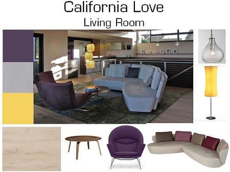 Design Boards – California Love