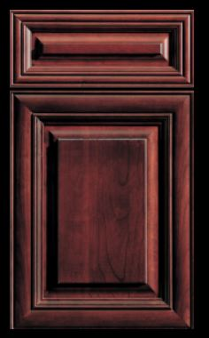 Venice Raised Panel cabinets from DureSupreme on Carlisle Wide plank Floors Blog
