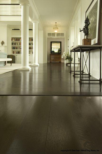 Oak Wood Floors and Dark Wood Flooring from Carlisle Wide Plank Floors.