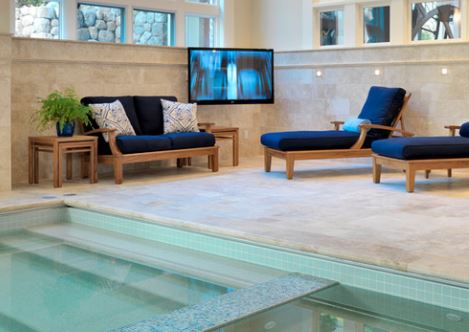 Jan Gleysteen Architects Indoor Spa on the Carlisle Wide Plank Floors Blog