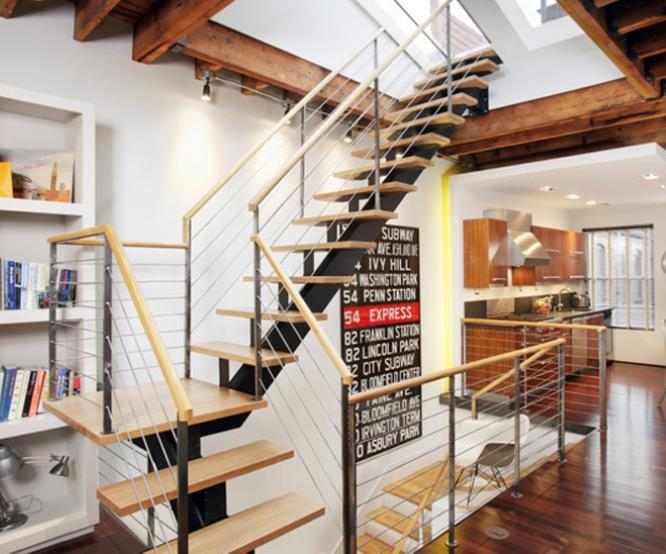 Stair design Ideas from Carlisle Wide Plank Floors.