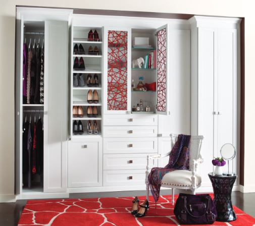 California Closets Wardrobe on Carlisle Wide Plank Floors