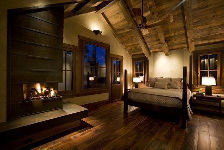 Dark Wood Flooring for Master Bedrooms from Carlisle Wide Plank Floors