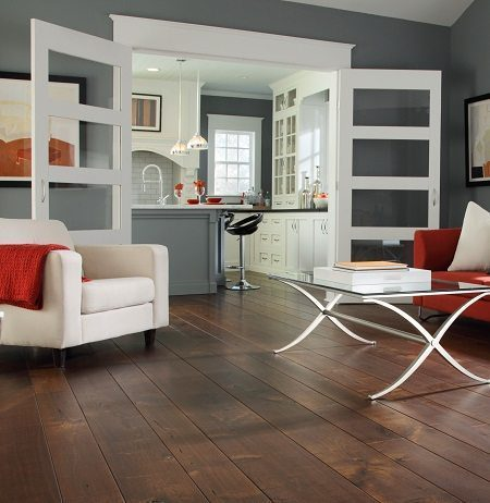 Dark Wood Flooring from Carlisle Wide Plank Floors