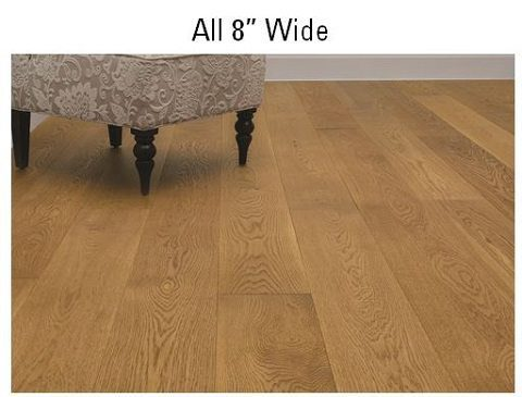 Flooring 101 choosing the right width for your wood floor for Hardwood flooring 8 wide