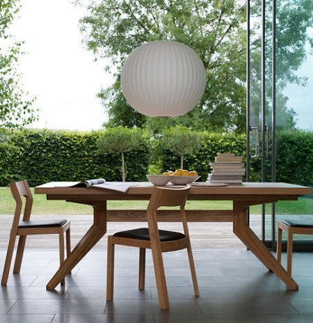Cross Extending Table from Matthew Hilton and Case Furniture on Carlisle Wide Plank Floors Blog
