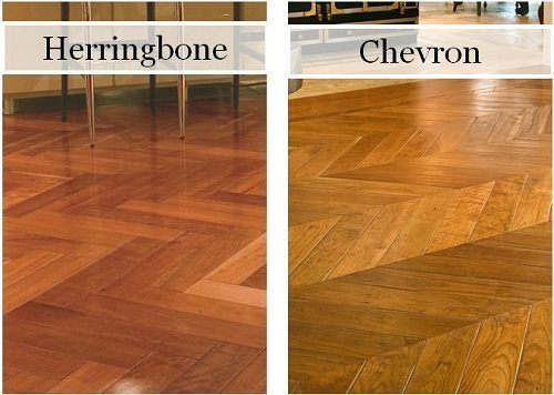 Chevron Wood Flooring from Carlisle Wide Plank Floors