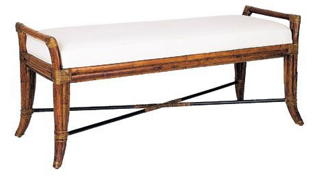 David Francis Furniture Bench on Carlisle Wide Plank Floors Blog