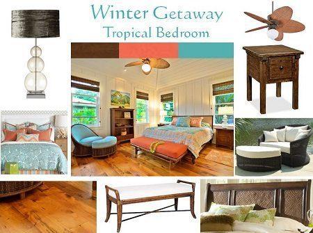 Design Boards – Winter's Tropical Escape