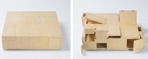 Kai Table from Kirakoso on Carlisle Wide Plank Floors Blog