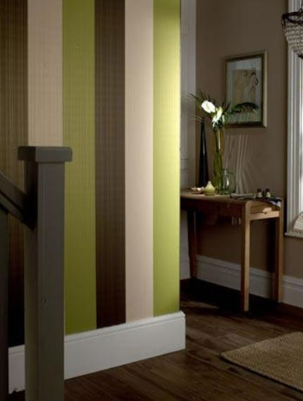 Striped wall designs on Carlisle Wide Plank Floors Blog