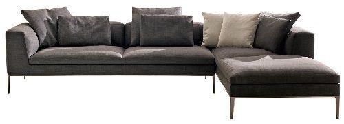 BB Italia Michel Sofa for Modern Decor on Carlisle Wide Plank Floros Blog