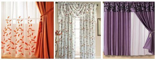 Floral Curtains and Window Fashions on Carlisle Wide Plank Floors Blog