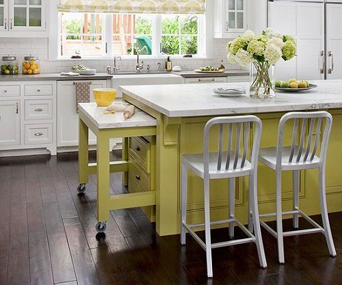 Kitchen Organization Ideas from Carlisle Wide Plank Floors Blog