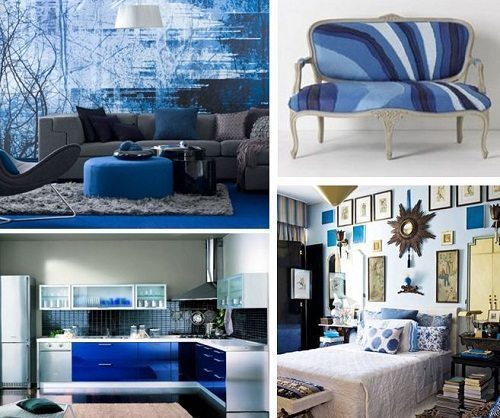 Pantone Dazzling Blue Interiors from Carlisle Wide Plank Floors Blog