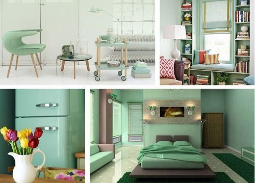 Pantone Hemlock Interiors from Carlisle Wide Plank Floors Blog