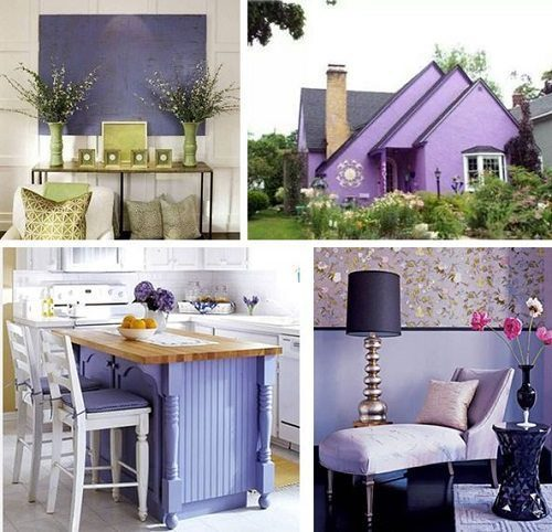 Pantone Violet Tulip Interiors from Carlisle Wide Plank Floors