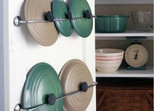 8 Small Ideas for A Storage Saavy Kitchen