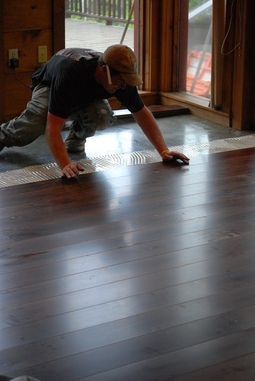 Installing Prefinished Hardwood Flooring from Carlisle Wide Plank Floors