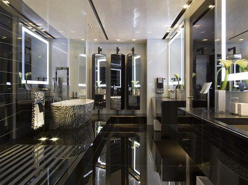 Nieto Design Glamorous Bathroom on Carlisle Wide Plank Floors Blog