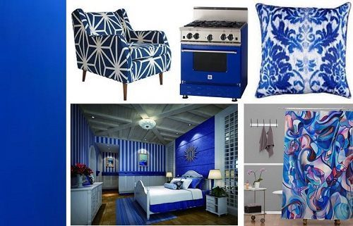 Electric Blue Interior Decor Ideas