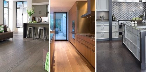 Wood Flooring Design Ideas for the Kitchen from Carlisle Wide Plank Floors