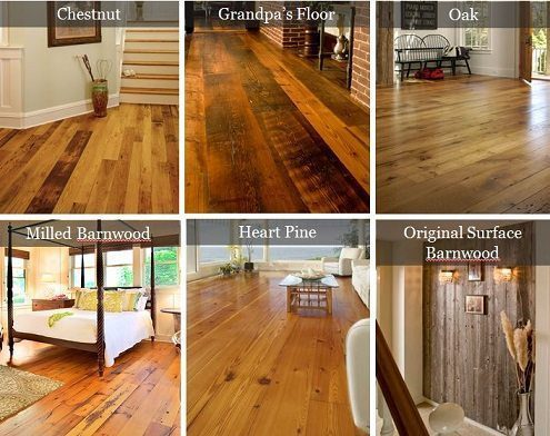 Reclaimed wood flooring and antique flooring from Carlisle Wide Plank Floors.