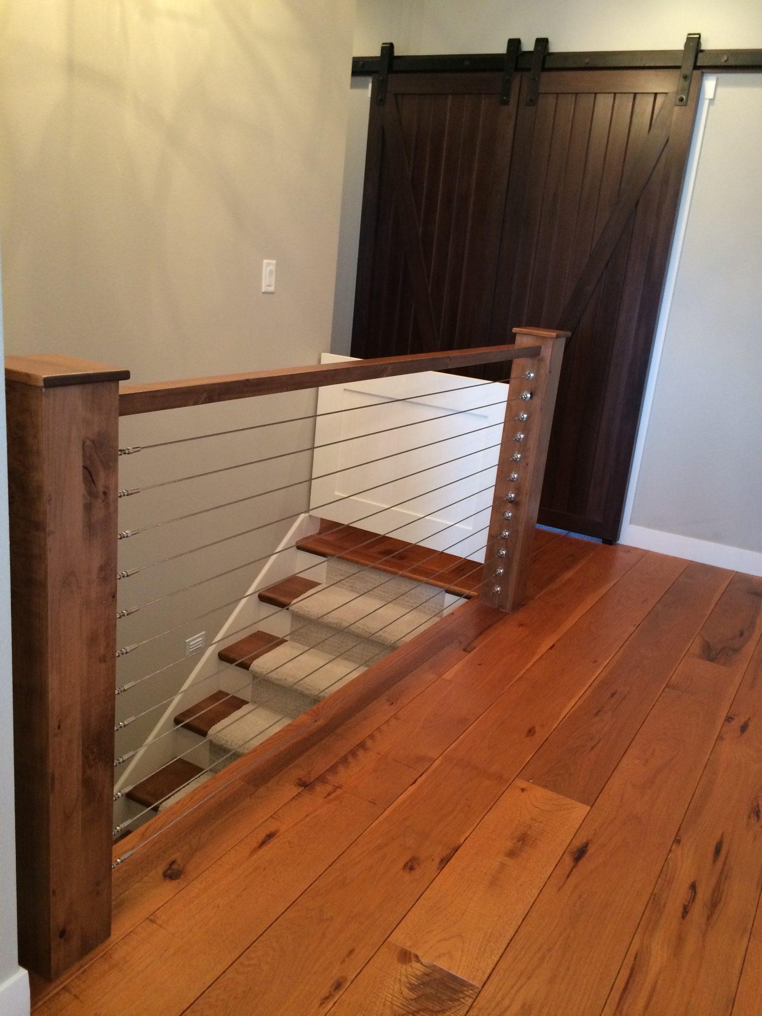 Distressed Wood Flooring in a Modern Farmhouse on Carlisle Wide Plank Floors Blog