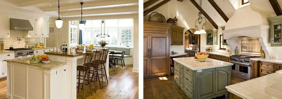 Kitchen workspaces